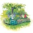Река Чаек - иконка «сад» в Красных Баках